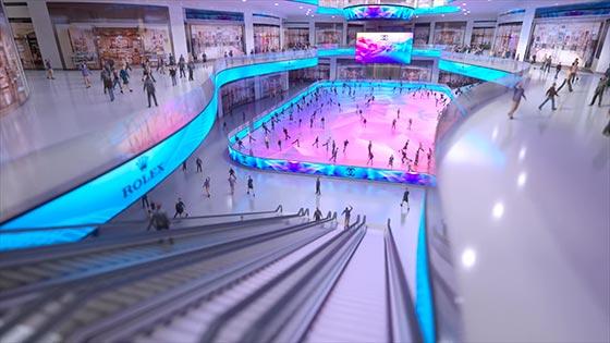 Ice Mall Archviz